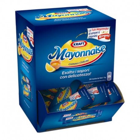 MAYONNAISE Pack de 200 sachets unidoses 15gr