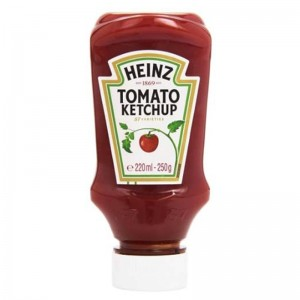Tomatenketchup TOP - DOWN 250g 220ml