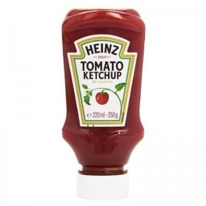 Tomato Ketchup TOP‐DOWN  250g 220mll