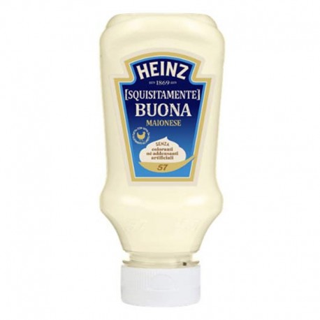 HEINZ MAYONNAISE SQUEEZY PETIT TOP-DOWN 215g - 220 ml