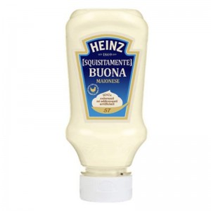 HEINZ MAIONESE SQUEEZY SMALL TOP‐DOWN 215g - 220 ml