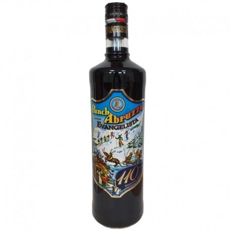 Punch Abruzzes 110 ° Anniversaire Evangelista Liquori - Bouteille de 1 litre