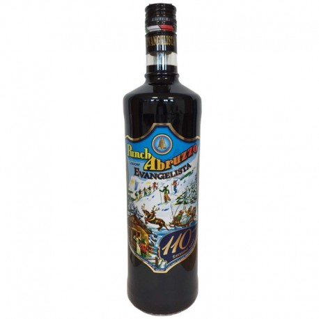 Punsch Abruzzen 110° Jubiläum Evangelista Liquori - 1 Liter Flasche