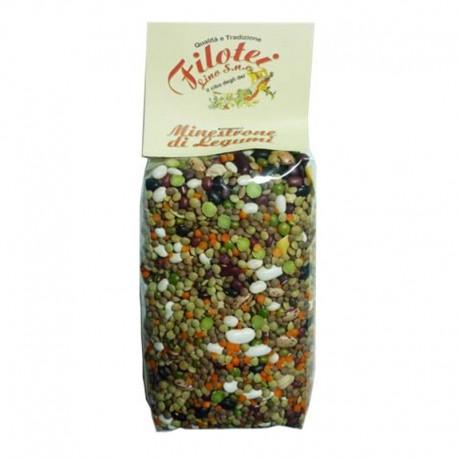 Filotei Hülsenfrüchte Minestrone - Packung mit 500gr