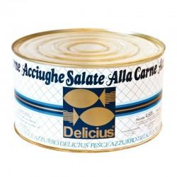 Acciughe Salate alla Carne Delicius - Confezione da 5Kg