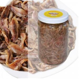 Sardellenfilets in Stücken in Sonnenblumenöl - Topf mit 1,8 kg