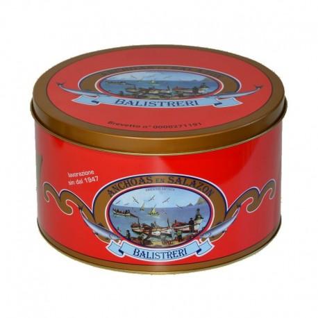 Filets d'anchois salés Don Battista Espagne - Paquet de 5 Kg