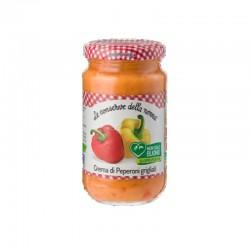 Le Conserve Della Nonna - Crema di Peperoni - Barattolo da 190gr