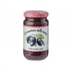 Le Conserve Della Nonna - Patè di Olive Nere - Barattolo da 190gr