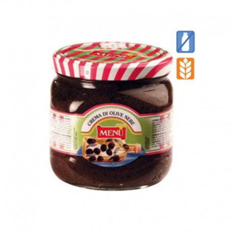 Menu - Crème d'Olive Noire - Pack de...