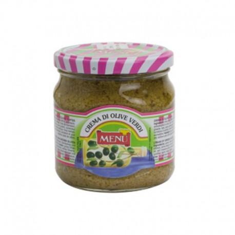 Menu - Crème d'Olive Verte - Pack de...