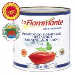 La Fiammante Pelati San Marzano - Barattolo da 2,5Kg