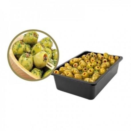 Olives vertes farcies géantes...