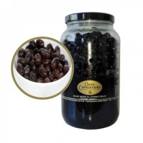 Olives noires au four - Pot de 2,3 kg