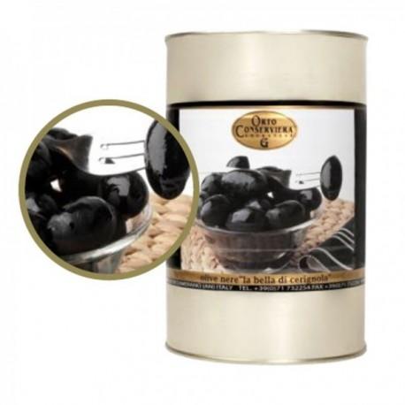 Olives Noires Douces La Bella di...
