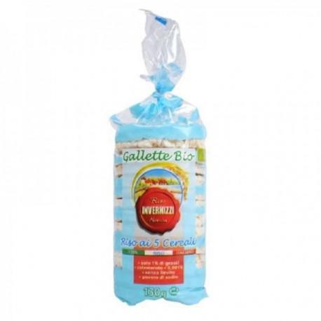 Gallette Bio Riso ai 5 Cereali -...