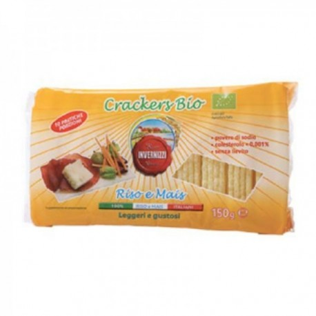 Crackers Bio Riso e Mais - Confezione...