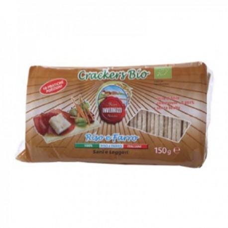 Crackers Bio Riso e Farro -...