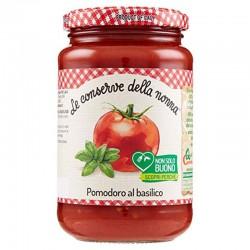 Le Conserve Della Nonna - Pomodoro al Basilico - Bottiglia da 350gr