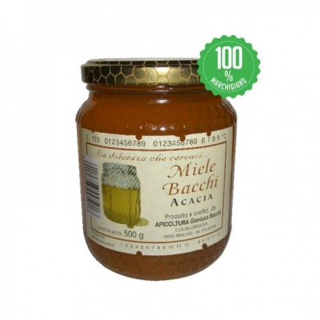 Miele di Acacia Apicoltura Bacchi -...