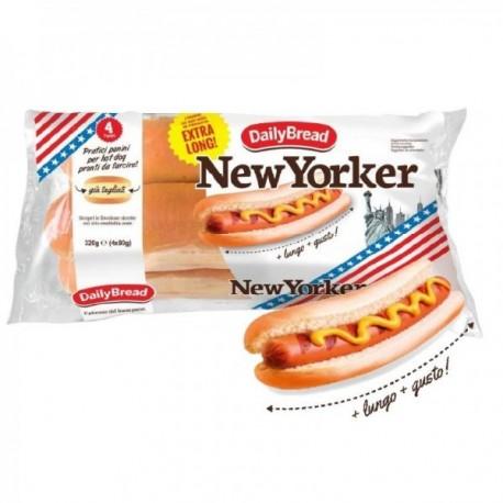 New Yorker Hot Dog Formato Extra Long...