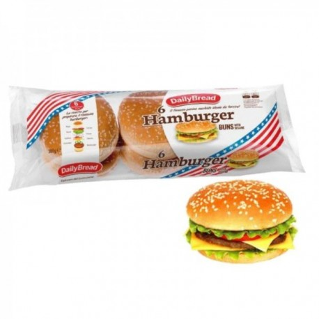 Hamburger con Sesamo DailyBread - 6...