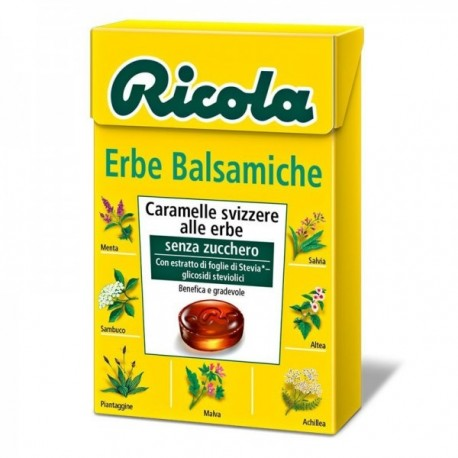 Caramelle Ricola Erbe Balsamiche 50 gr
