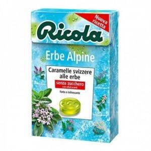 Caramelle Ricola Erbe Alpine 50 gr