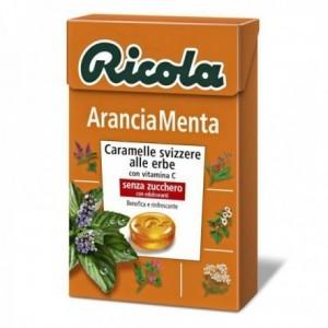Caramelle Ricola Arancia Menta 50 gr