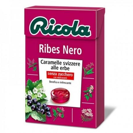Caramelle Ricola Ribes Nero 50 gr