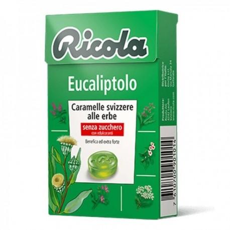 Caramelle Ricola Eucaliptolo 50 gr