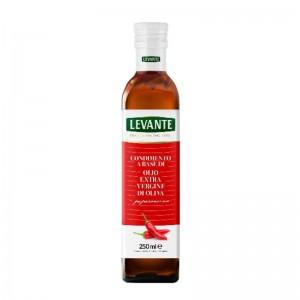 Olio Extra Vergine di Oliva Aromatizzato al Peperoncino - Levante - Bottiglia da 250ml