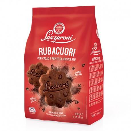 Biscotti Rubacuori al Cacao con Gocce...