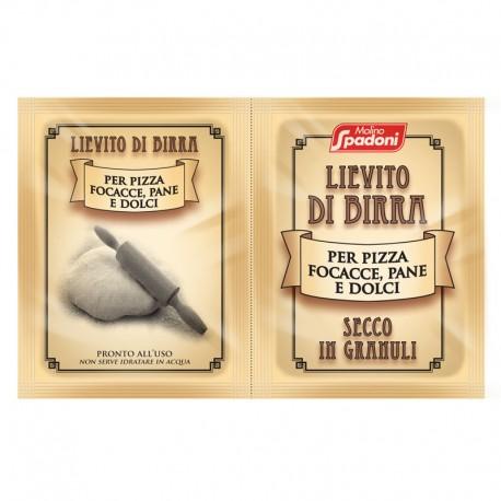 Lievito di Birra Secco in Granuli per Pizza Focacce Pane e Dolci - 2 Bustine da 7 gr