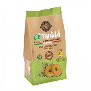 Taralli Cè Taràdd Semi di Finocchio Apulia 225gr