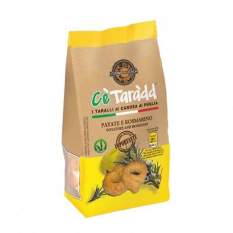 Taralli Cè Taràdd Pommes de Terre et Romarin Apulia 225gr
