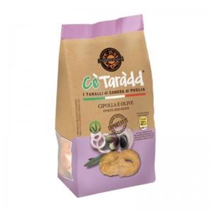 Taralli Cè Taràdd Oignons et Olives des Apulia