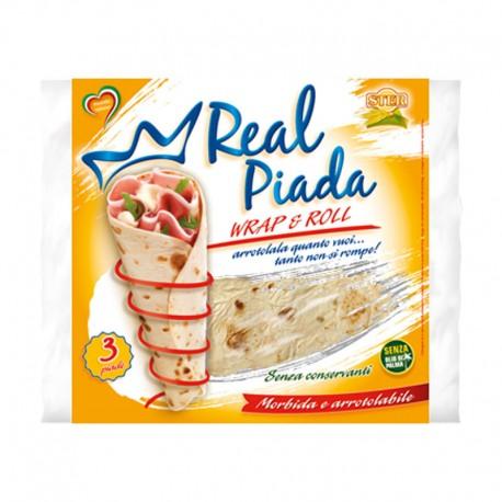 Piadina Real Piada Wrap & Roll Ster - Sachet de 3 Piade 330gr