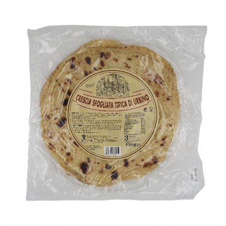 Crescia Sfogliata Typique d'Urbino - 450gr
