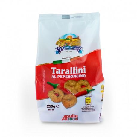Taralli Cè Taràdd Huile d'Ail et Piment Apulia