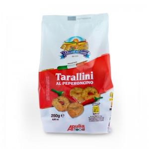 Taralli Cè Taràdd Aglio Olio e Peperoncino Apulia 225gr