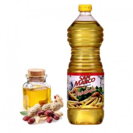 Olio di Semi di Arachide San Marco - Bottiglia da 1 Litro