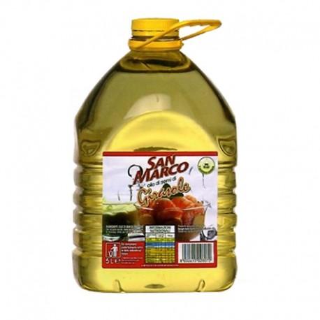 Olio di Semi di Girasole San Marco - Bottiglia da 5 Litri