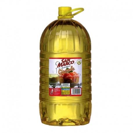 Huile de graines de tournesol San Marco - Bouteille de 10 litres