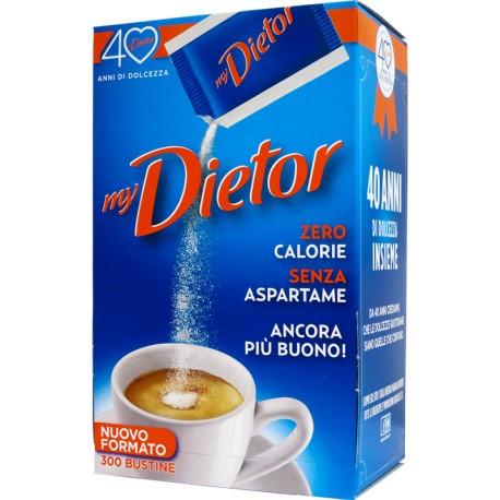 Dolcificante Dietor - Dispenser da 300 Bustine