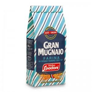 """Farina """"00"""" Gran Mugnaio antigrumi Spadoni - 1kg"""