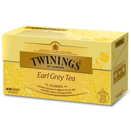 Twinings Classics Earl Grey Tea - 20 Filtri Sigillati Singolarmente