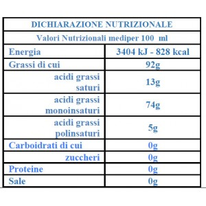 Huile d'Olive Extra Vierge La Masseria - 5 lt