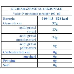 Huile d'Olive Extra Vierge La Masseria - Bouteille de 5 lt