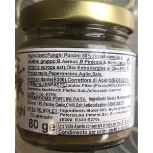 Filotei Champignons Filotei Porcini à l'Huile d'Olive Extra Vierge